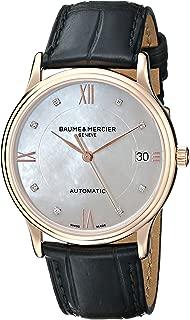 Baume & Mercier Women's A10077 Classima Analog Display Swiss Automatic Black Watch