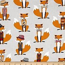 dapper fox fabric