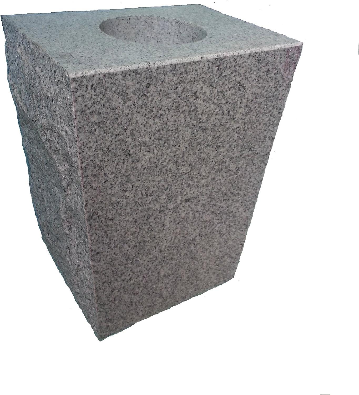 Upstate Mail order Stone Works Granite Vase Gray Tapered Dedication 8
