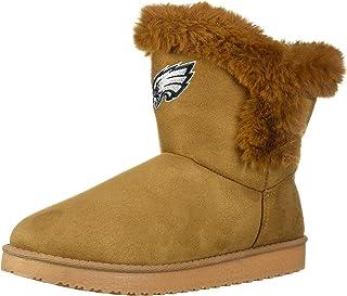 FOCO Womens Brown Fur Boot