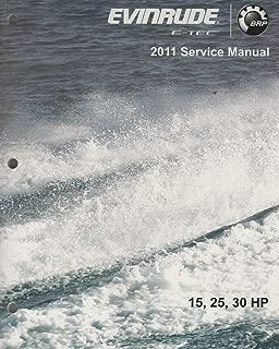 2011 EVINRUDE E-TEC OUTBOARD 15, 25, 30 HP SERVICE MANUAL 5008326 (460)