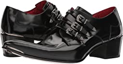 Jeffery-West - Three Punk Western Buckle's Monk Shoe
