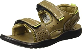 Bubblegummers Boy's Brace Olive Indian Shoes-2 India/UK (35EU) (3617450)