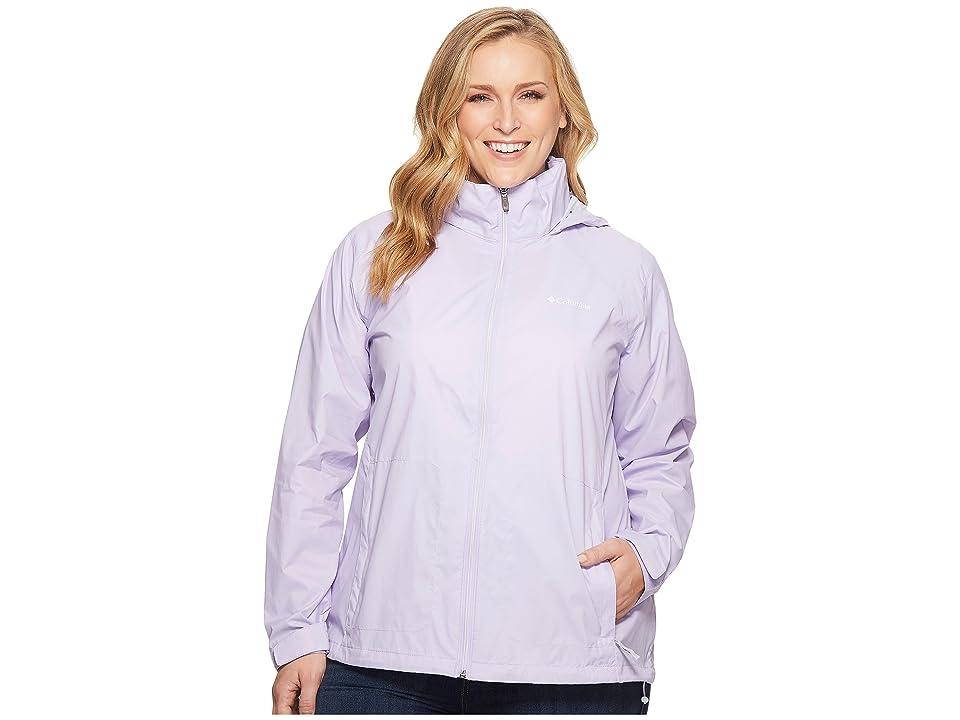 Columbia Plus Size Switchback III Jacket (Soft Violet) Women