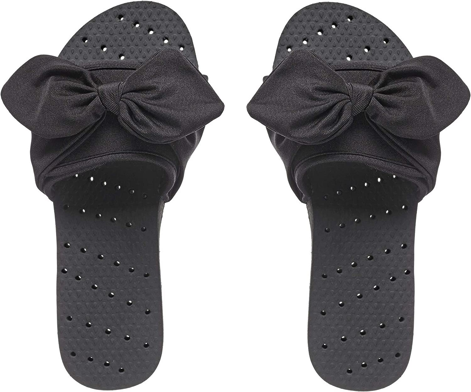 Showaflops Womens' Antimicrobial Shower & Water Sandals for Pool, Beach, Dorm and Gym - Adjustable Slide