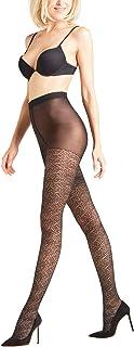 FALKE Damen Wild Luxe Strumpfhose, Transparent