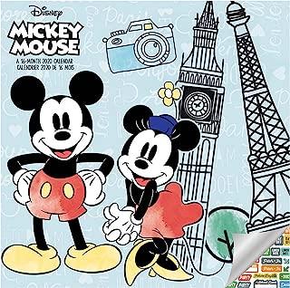 Best mickey mouse desk calendar 2019 Reviews