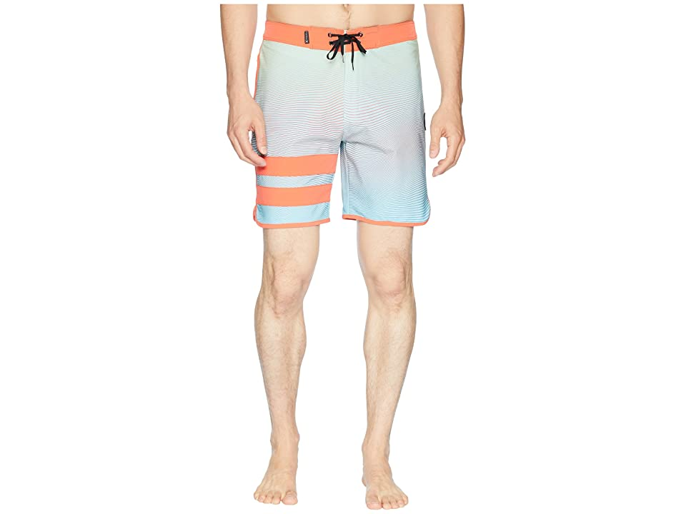 Hurley Phantom Static Block Party 18 Boardshorts (Ocean Bliss) Men