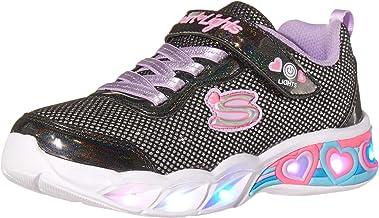 Skechers SWEETHEART LIGHTS - SHIMMER S girls Sneaker