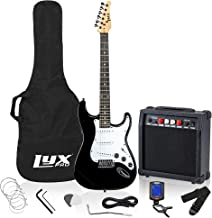 "LyxPro Electric Guitar 39"" inch Complete Beginner Starter kit Full Size with 20w.."