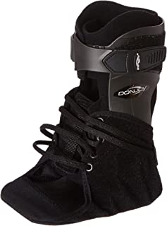 Donjoy 11-1497-4-06000 Velocity Ankle Brace, Extra Support, Left, Large, Black