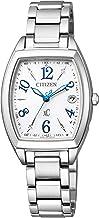 Citizen ES9391-54A Cross Sea Eco-Drive Radio Watch, Stainless Steel Line, Happy Flight Series, Simple Adjustment