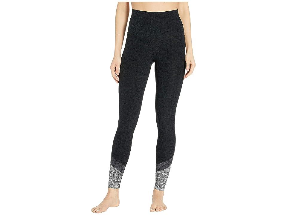 Beyond Yoga Spacedye Color in High-Waisted Long Leggings (Darkest Night) Women