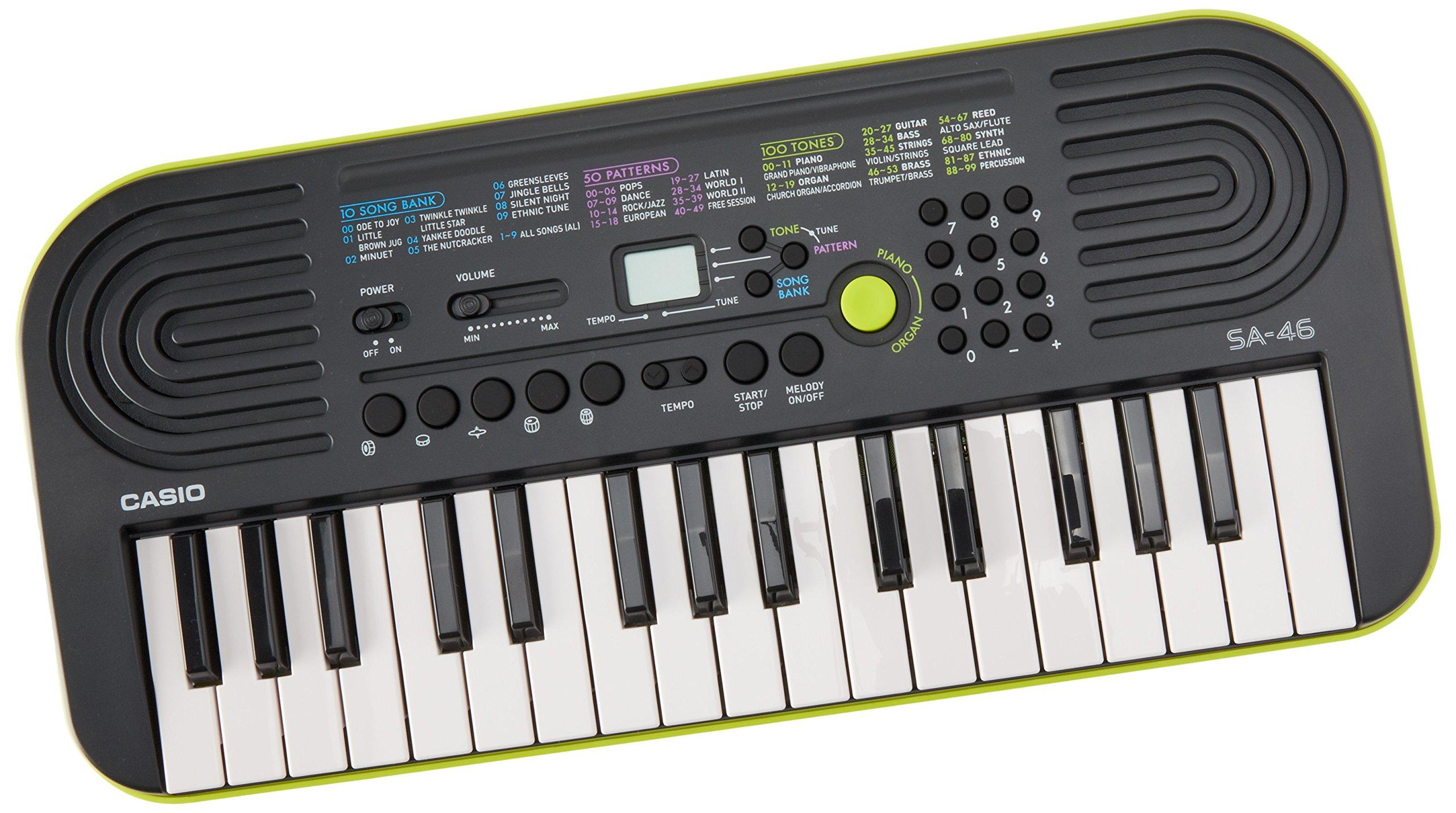 Casio SA 46 Key Portable Keyboard