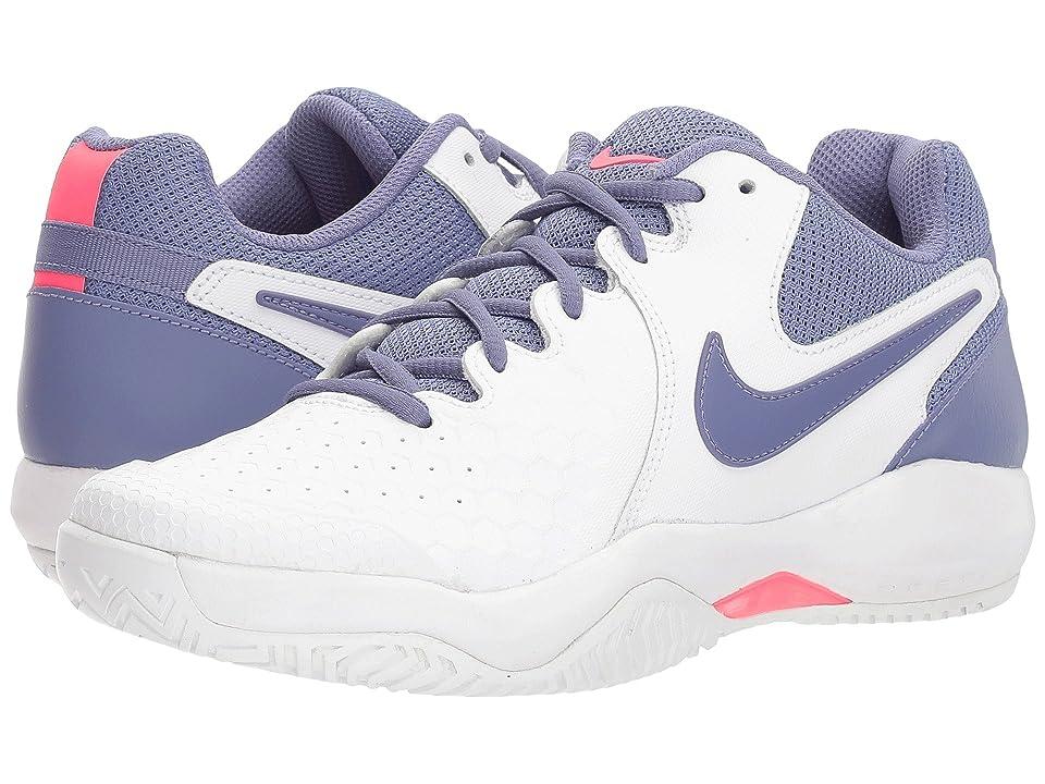 Nike Air Zoom Resistance (White/Purple Slate/Racer Pink) Women