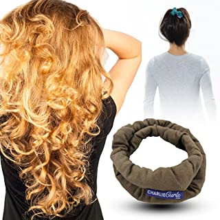 CharlieCurls: On The Go, One-Piece, Easiest ever No Heat Hair Curler (Mocha)