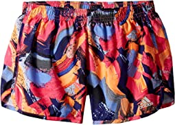 adidas Kids Breakaway Printed Woven Shorts (Big Kids)