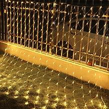VINGO LED Eiszapfen Eisregen Lichternetz Warmwei/ß Lichterkette 31V Wasserdicht f/ür Weihnachten Wedding au/ßen Schaufenster 10M 40 Leds