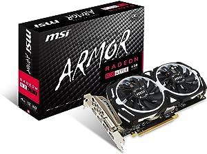 MSI GAMING Radeon RX 470 GDDR5 4GB CrossFire FinFET DirectX 12 Graphics Card (RX 470 ARMOR 4G OC) (Renewed)