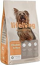 Marca Amazon - Lifelong Complete- Alimento seco completo para perros (razas pequeñas) rico en pollo y arroz, 1 x 10 kg