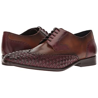 Messico Paolo (Burgundy/Honey Leather) Men