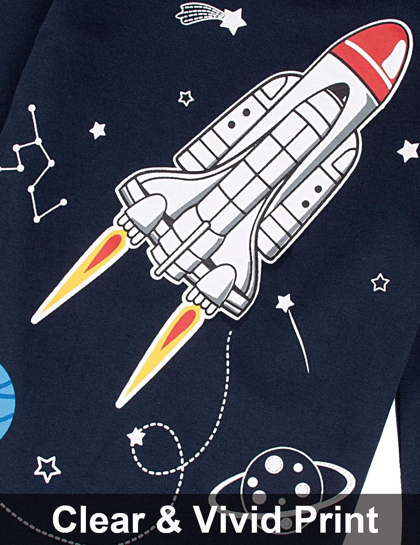 A/&J DESIGN Kids Boys Christmas Pajamas Sets 100/% Cotton Pjs