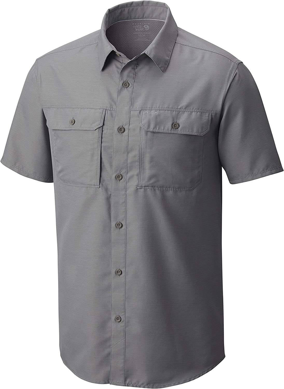 Mountain Hardwear Men's Canyon Short Philadelphia Mall Sleeve Shirt Sacramento Mall