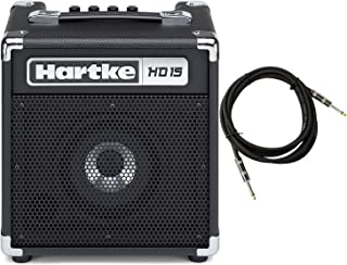 Hartke HD15 15w Bass Combo Amp w/ 18-Foot Cable