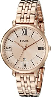 Fossil Women's Jacqueline Stainless Steel Dress Quartz Watch