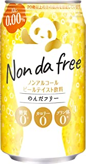 合同酒精 ノンアルコールビールテイスト のんだフリー Non da free 350ml×24本