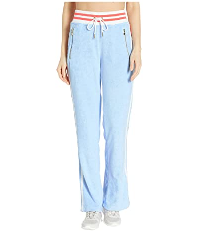 Champion LIFE Terry Cloth Warm Up Flare Pants (Ocean Front Blue) Women
