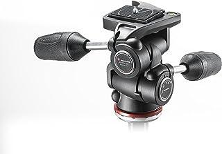 3 Way Tripé Head Mark II em Adapto com Alavancas Retráteis, Manfrotto, Acessórios para Câmeras Digitais