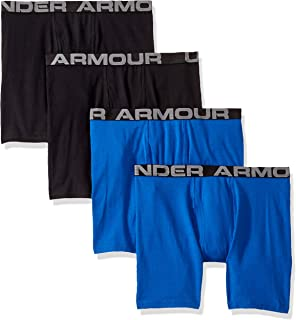 Under Armour Boys' Big Charged Cotton Stretch Boxer Jock