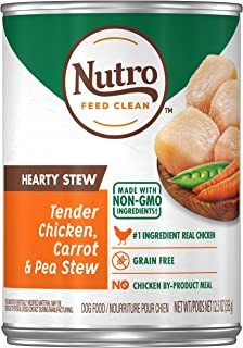 Nutro Hearty Stews Adult Natural Wet Dog Food, (12) 12.5 oz. Cans