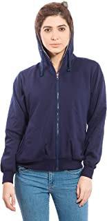 Alan Jones Clothing Full Sleeve Solid Women's Sweatshirt