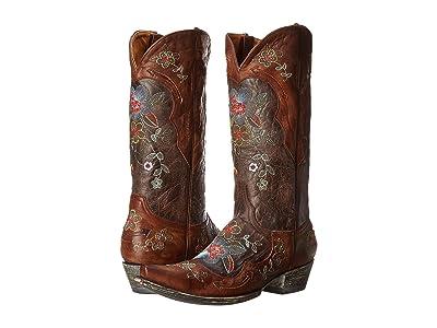 Old Gringo Bonnie 13 (Chocolate/Brass) Cowboy Boots
