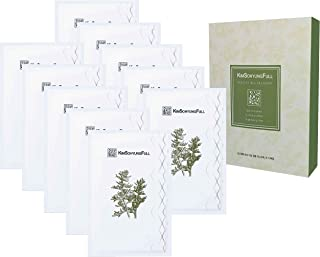 [KimSohyungFull] BONCHO Real Mugwort Sheet Mask (23ml x 10 packets) - Contains 8% Real Natural Mugwort Leaves, Innovative 3-layer 100% Natural Botanical Sheet, Anti-Aging