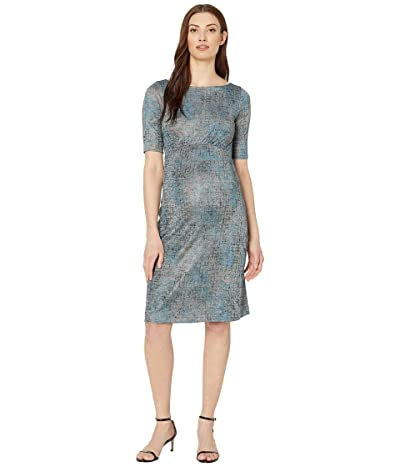 Tiffany Rose Anna Maternity Shift Dress (Bronze Blue) Women