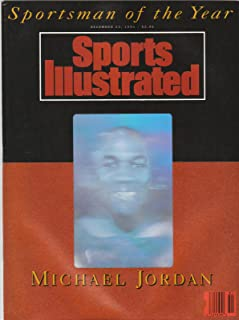 Sports Illustrated December 23 1991 Michael Jordan Hologram Cover - Sportsman of the Year, Michigan Wolverines Fab Five Freshman vs #1 Duke, Ithica College Football, Pittsburgh State Gorillas
