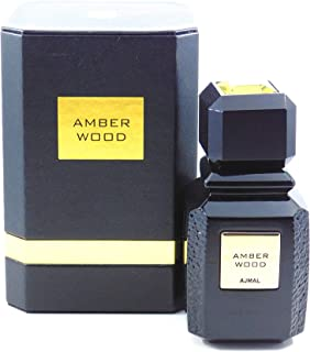 Ajmal Amber Wood for Men and Women (Unisex) EDP - Eau De Parfum 100ML (3.4 oz)