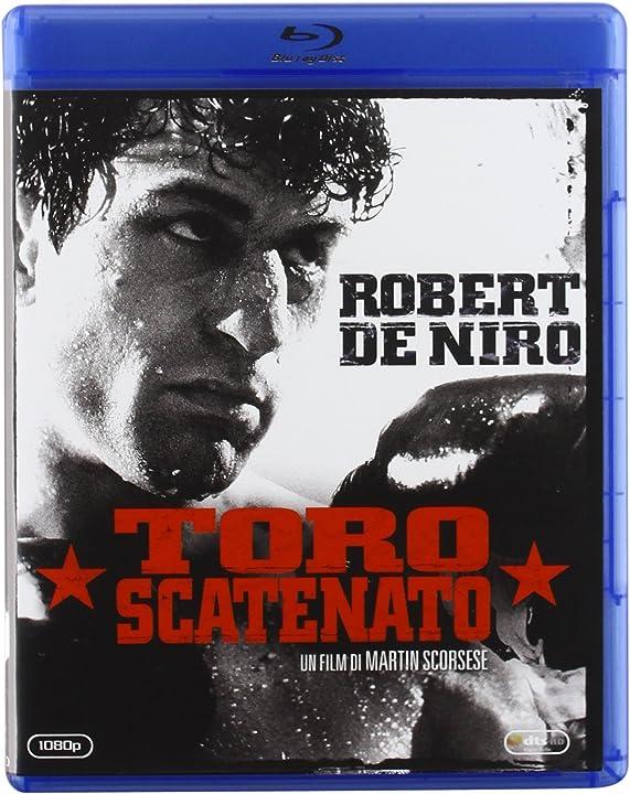 Film - toro scatenato - con roberto de niro nei panni di jack lamotta  - bluray/dvd B0041KW7JM