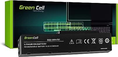 Green Cell Standard Serie SQU-809-F01 Laptop Akku f r Fujitsu-Siemens Amilo Li3710 Li3910 Pi3560 Pi3660  6 Zellen 4400mAh 11 1V Schwarz