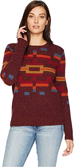 Adobe Blocks Pullover Sweater
