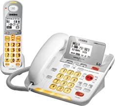D3098 DECT 6.0 Expandable Corded/Cordless Phone withCaller ID and Answering System, White, 1 Handset and 1 Base