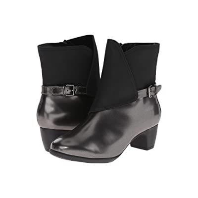 SoftWalk Puddles (Graphite/Black Box Leather Man Made) Women