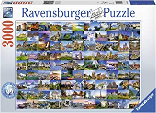 99 Beautiful Places of Europe - Puzzle mit 3000 Teilen