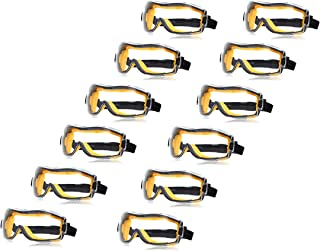 AmazonBasics Safety Goggle, Anti-Fog, Clear Lens and Elastic Headband, 12-Count