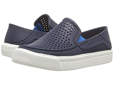 Crocs Kids CitiLane Roka (Toddler/Little Kid) (Navy) Kid