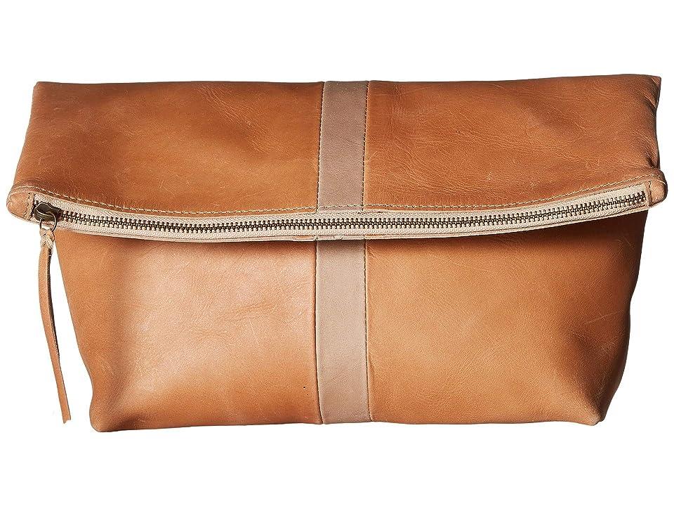 ABLE Foldover Emnet (Pink Sand/Fog) Handbags