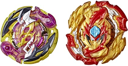 BEYBLADE Burst Rise Hypersphere Dual Pack Lord Spryzen S5 and Roktavor R5 -- 1 Right/Left-Spin and 1 Right-Spin Battling Top Toy, 8 and Up